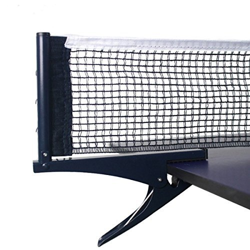 Great Features Of Kioos Collapsible Table Tennis Net Professional Steel Pingpong Net Clip Grip Mesh ...