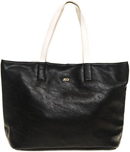 z Women's Reversible Women's Black Tote Black (Jennifer Lopez Bags)