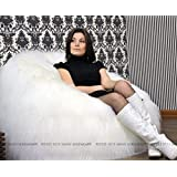 Luxury Large Lush & Soft Alpaca Faux Fur Bean Bag Cloud Chair Cover