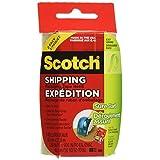 "Scotch Shipping Packing Tape, 1.88"" x 23m, 2 Rolls"