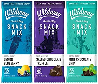 product image for Wildway Fruit & Nut Snack Mix | Chocolate Variety Pack | Certified Gluten-Free, Grain-Free, Paleo, Non-GMO, No Added Sugars or Extracts - 6pk