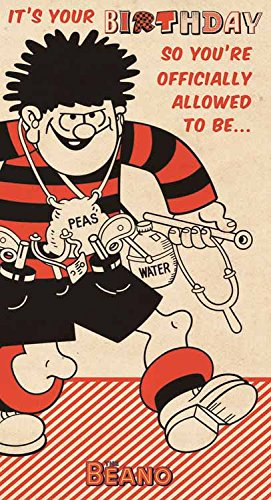 Amazon Beano Dennis The Menace Birthday Card Office Products