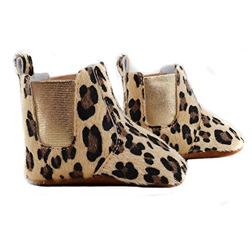 Phanindra Baby Boots Infant Leopard Booties Cotton Fabric Inner Boots Infant Baby Newborn Boy Girls Shoes Moccasin