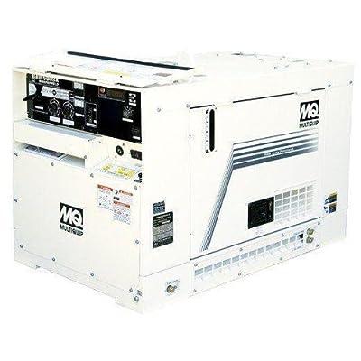 Multiquip DAW500SA4 Welder with Ground-Fault Circuit Interrupter Tier 4 Final, 500 Amp Alternating Current 3kW