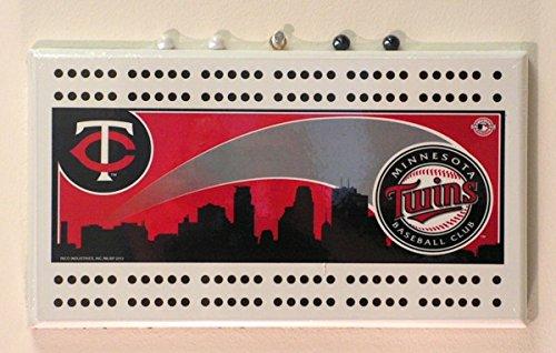 Minnesota Twins MLB Baseball Cribbage Board