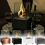 Sunnydaze Ventless Tabletop Fireplace Cubic Bio Ethanol - Options Available