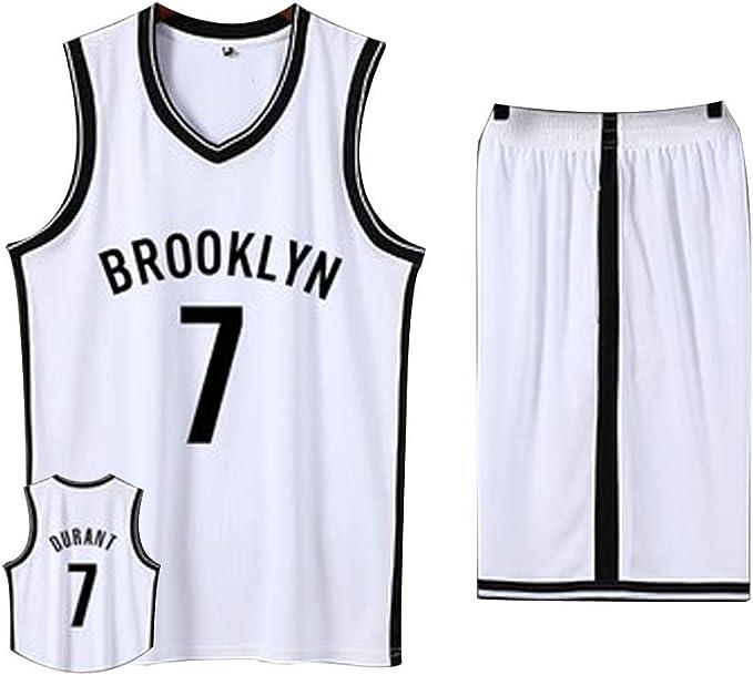 7 Kevin Durant Camiseta de Baloncesto para Hombre, Uniforme del ...