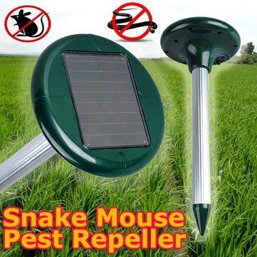 Sanjith Garden Solar Power Mouse Snake Repeller Outdoor Animal Expeller