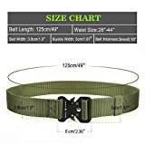 QINGYUN RONGQI 2Pack Tactical Belt,Military Style
