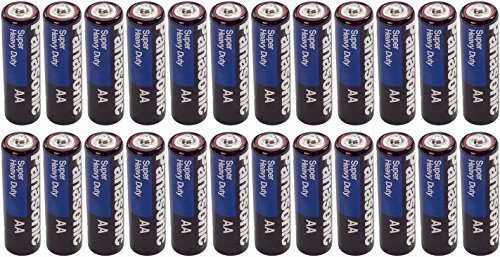Panasonic Heavy Duty AA Batteries X 24 ()