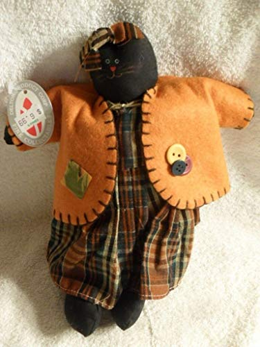 Rare Delton Product Corp Fine Collectibles Halloween Cat -