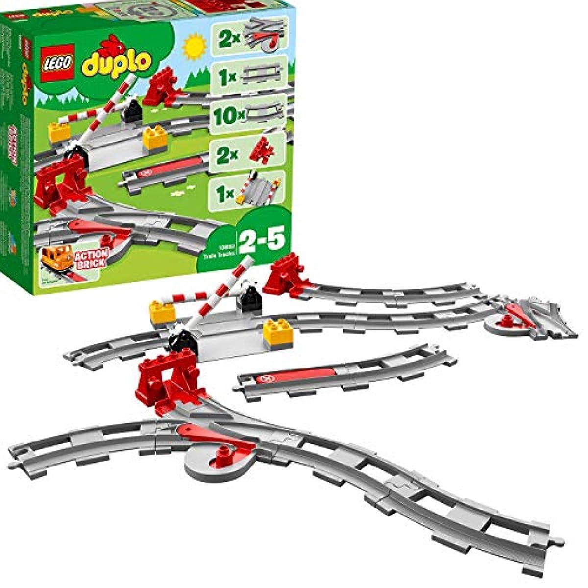 [해외] 레고(LEGO)듀플로 놀예거 퍼진! 건널목 레일 세트 10882