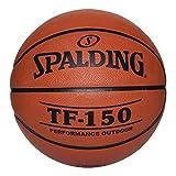 "Spalding 022360 TF-150 Men's Basketball, Rubber, 29-1/2"" Size"