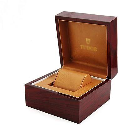 Amazon.com: Caja de joyería de alta gama, caja de madera ...
