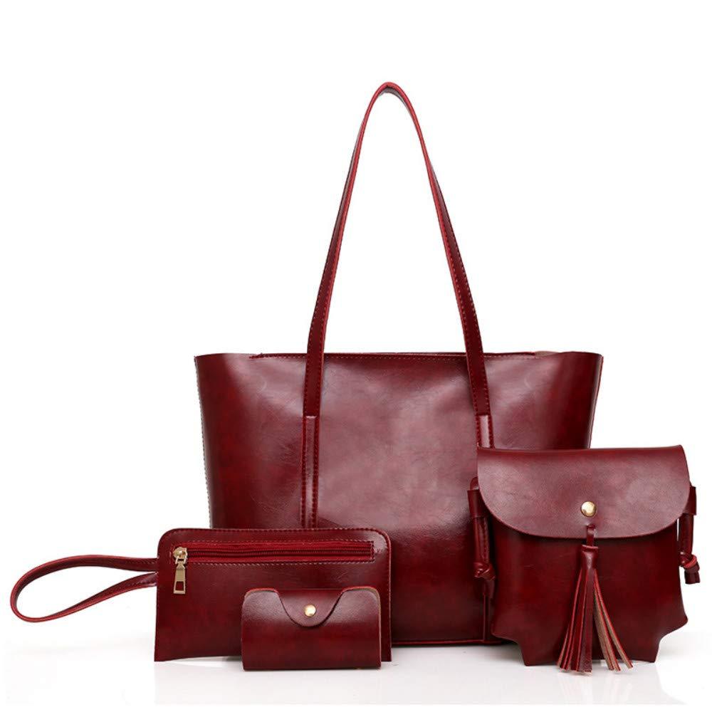 New Mother Bag Fashion Schultertasche Damen-Anzug, rot B07P4DCS74 Schultertaschen Schön und charmant