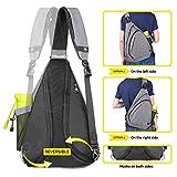 OutdoorMaster Sling Bag - Small Crossbody Backpack