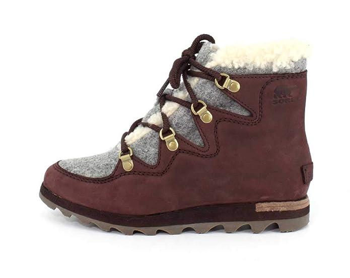 d342306943b Amazon.com | Sorel Womens Sneakchic Alpine Holiday Boot | Snow Boots
