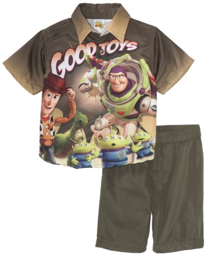 Disney Boys' 2 Piece Toy Story III Short Set
