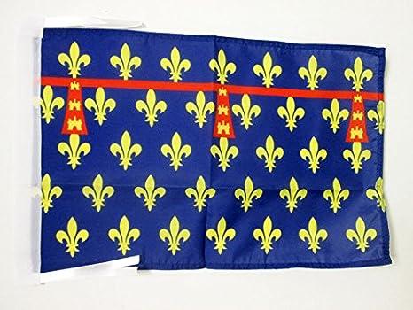 AZ FLAG Bandera del Condado DE Artois 45x30cm - BANDERINA COMTÉ DARTOIS - Francia 30 x 45 cm cordeles