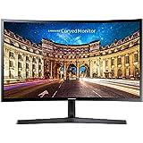 """Samsung 24"""" CF396 FHD 60-72Hz FreeSync HDMI VA Kavisli Gaming Monitör"""