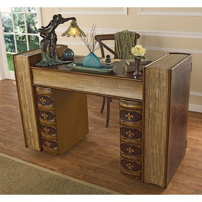 Design Toscano Literary Volumes Writing Desk