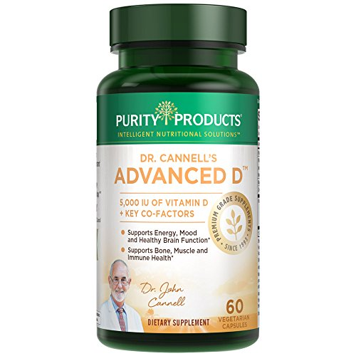 Dr. Cannell's Advanced D - Vitamin D Super Formula - 60 capsules - Purity (Advanced Vitamin)