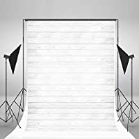 Laeacco 5x7ft Vinyl Photography Backdrop Mondern Style White Wood Board Theme 1.5x2.2m for Children Baby Photo Background Studio Props