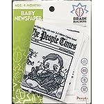 people-Brain-Builders-Baby-Newspaper-Crinkly-Baby-Toy