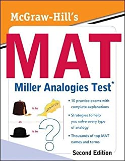 Miller Analogies Test (MAT) with TestWare, 6th Edition (Book & CD ...