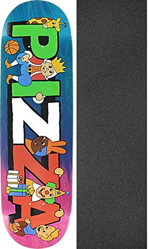 2e4241acf53d51 Pizza Skateboards Party Assorted Colors/Stain Skateboard Deck - 8.75
