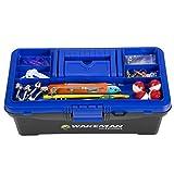 Search : Wakeman Fishing Single Tray Tackle Box 55 Pc Tackle Kit