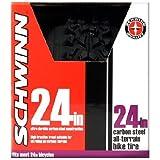 Schwinn Big Knobby Bike Tire (Black, 24 x 1.95-Inch)
