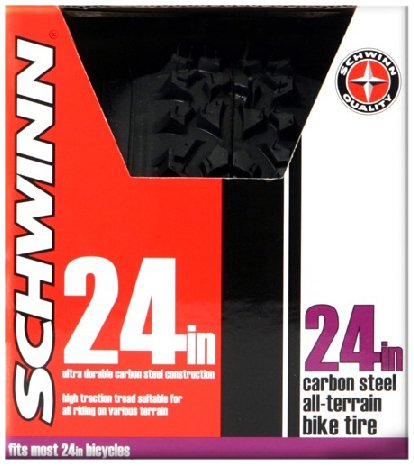 Schwinn Big Knobby Bike Tire (Black, 24 x 1.95-Inch)