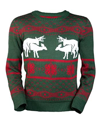 Amazon.com: Ugly Christmas Sweater-Sexy Reindeer Sweater by ...