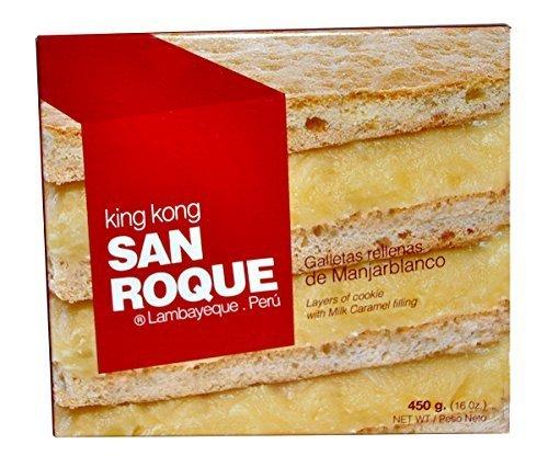 King Kong San Roque 1 libra Manjar Blanco by San Roque ...