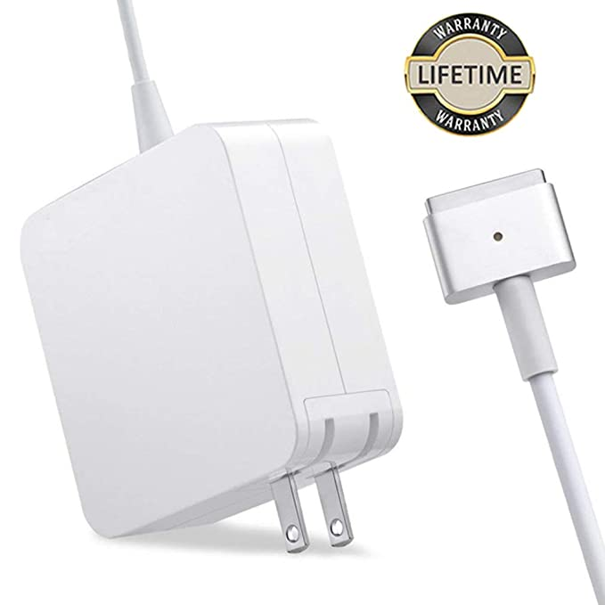 Mac Book Air Charger, 45W MagSafe 2 Power Adapter T-tip Style Connector Replacement Charger for Mac Book Air 11 inch and 13 inch(After 2012 Models)