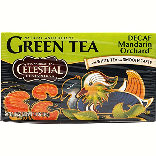 Celestial Seasonings Tea Dcf Grn Mandrn Orchr