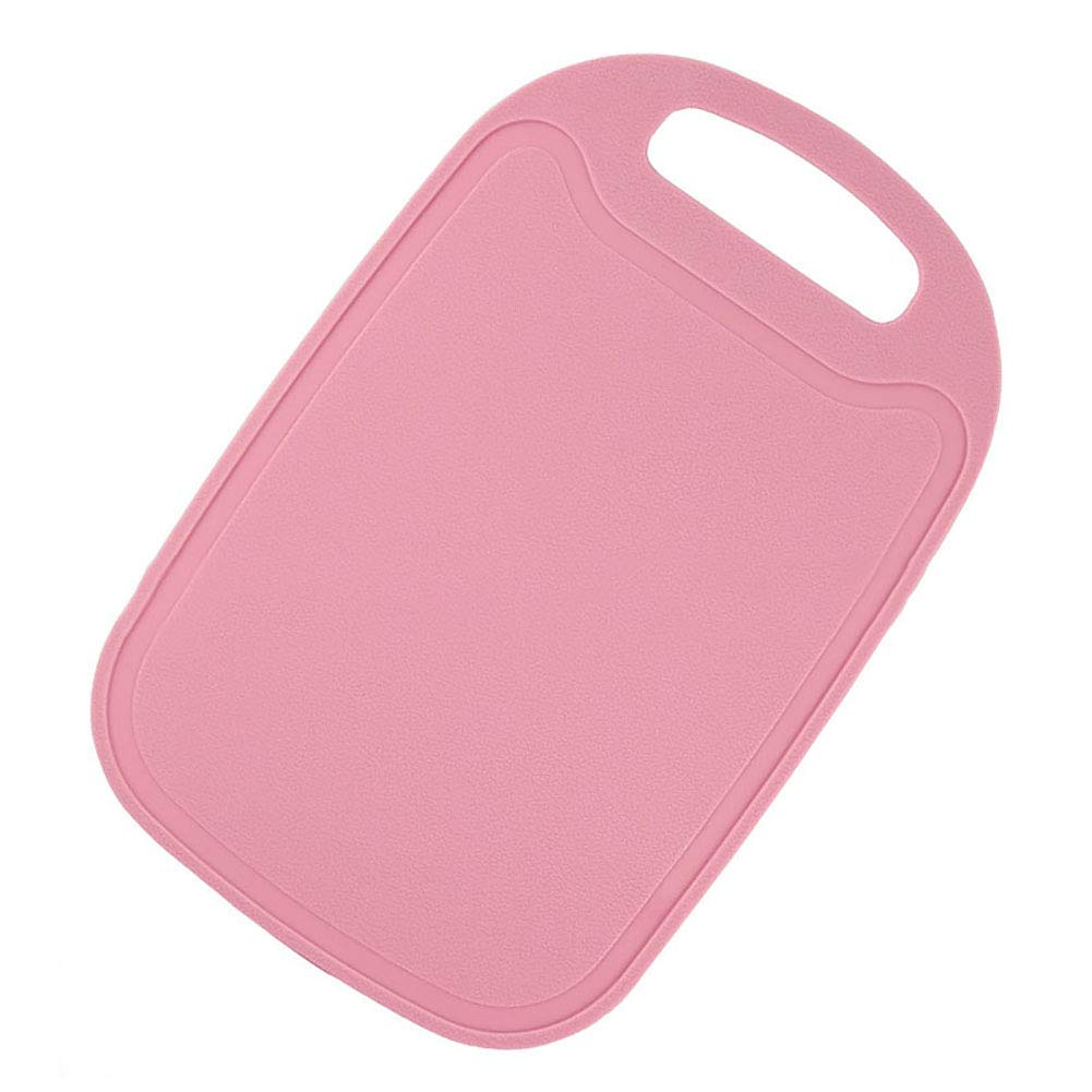 Non-Slip Mini Kitchen Meat Fruit and Vegetable Cutting Board Food Cutting Board,Original Cutting Board, Juice Grooves, Larger Thicker Boards, Easy Grip Handle, Non Porous, Extra Large, Kitchen
