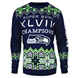 NFL Seattle Seahawks COMMEMORATIVE Ugly Sweater, XX-Large