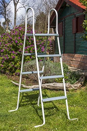 Gre ET1213 Escalera para Piscina Elevada, 136 cm: Amazon.es: Jardín
