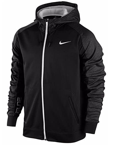 d391b2cb7fb2 Nike Elite Stripe Therma-Fit Full Zip Basketball Hoodie 744503-010   Amazon.ca  Clothing   Accessories