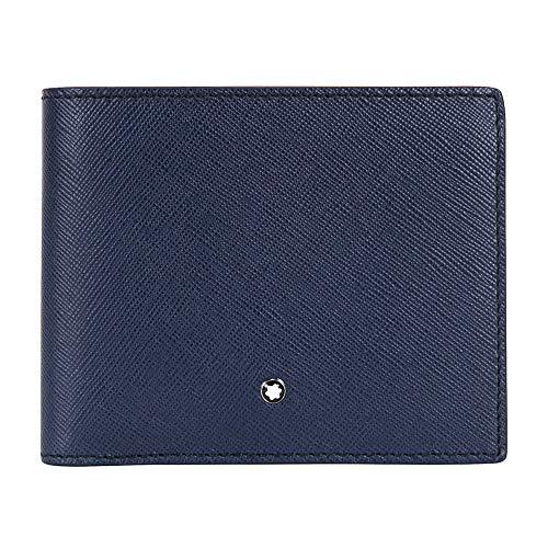 Montblanc Credit Card Case, indigo (blue) - 113217