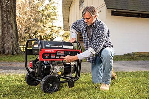 Amazon.com: Generador portátil Briggs and Stratton Craftsman ...