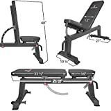 Titan-Fitness-Adjustable-Flat-Incline-Weight-Bench-650-lb-Rated-Capacity