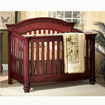 Attrayant Munire Lifetime Crib Antigua Mahogany