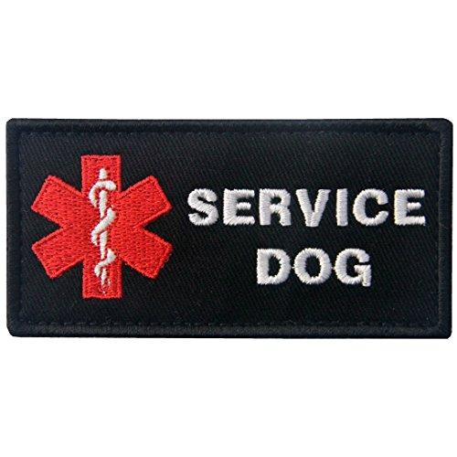 Service Dog ACU EMS Medic Paramedic Star of Life Vests/Harnesses Emblem Embroidered Fastener Hook & Loop Patch