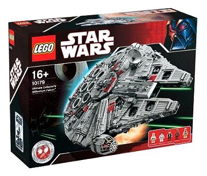 Amazon.com: LEGO Star Wars Ultimate Collector's Millennium Falcon ...