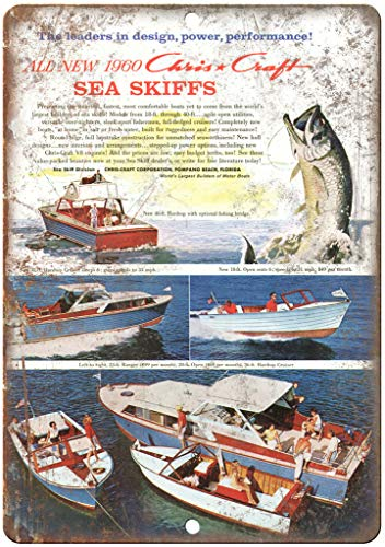 1960 Chris Craft Boat Vintage Ad 12