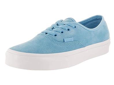 354ff39753 Vans Unisex Authentic (Soft Suede) Soft Suede Alaskan Blue Skate Shoe 4 Men
