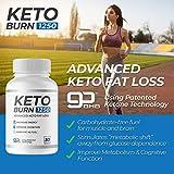 Keto Burn 1250 — Burn Body Fat as Fuel, Boost